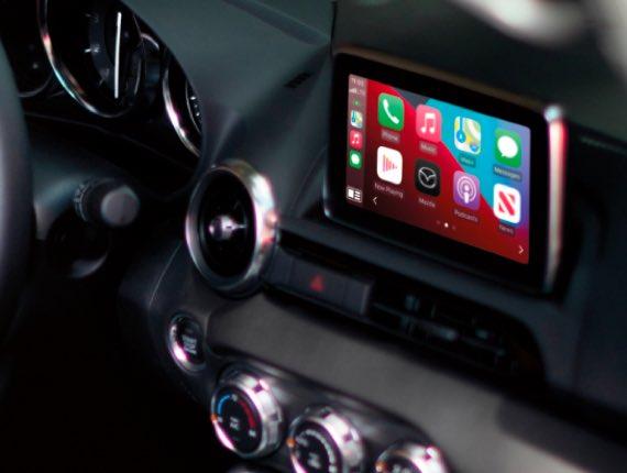 2021 Mazda MX-5 Miata, APPLE CARPLAY<sup>™</sup>