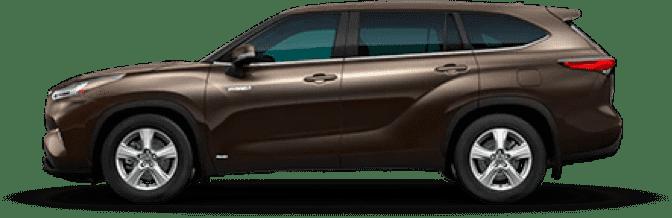 丰田汉兰达混合动力车