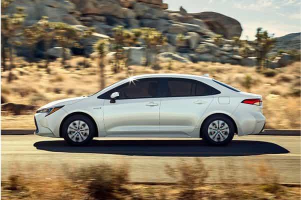 2021 Corolla Hybrid,