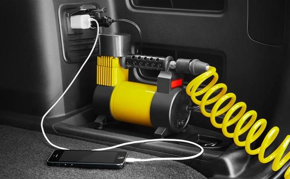 120V AC Power Outlet